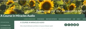 A Course in Miracles Audios